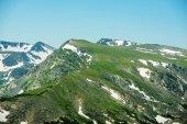 vrcholy Skalistých hor.