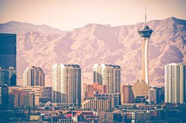 Vintage Las Vegas Skyline