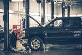auto služby interiér