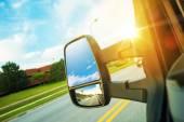 Fotografie Cargo Van Driving Concept