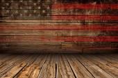 fából készült amerikai színpadi