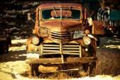 Photo Rusty Aged Pickup Truck