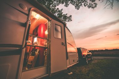 Travel Trailer Camping