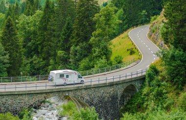 RV Camper Van Trip
