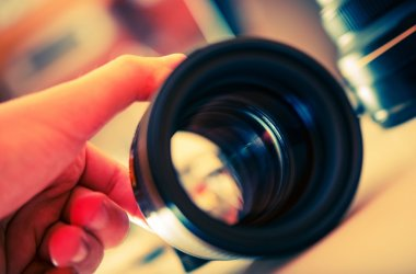 Servicing Photography Lens