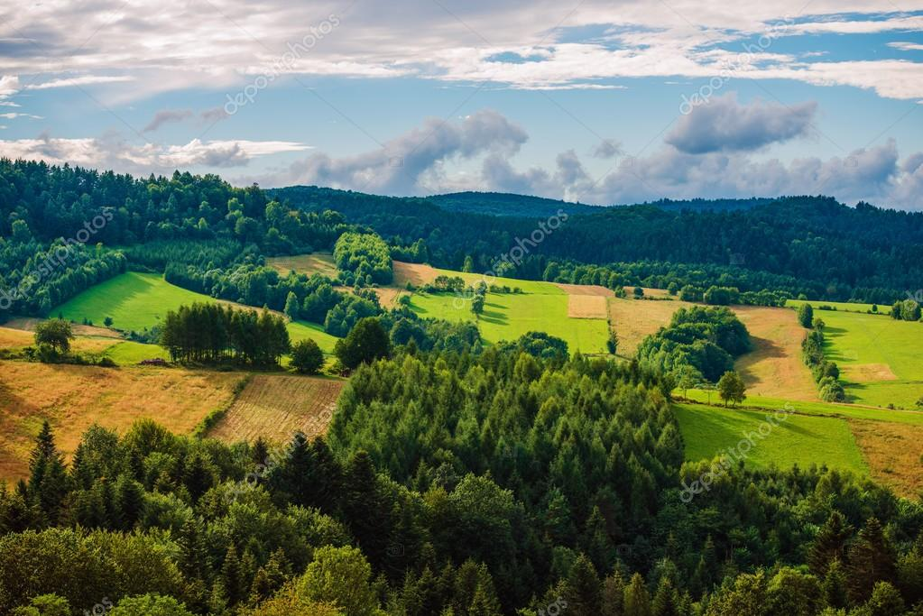 Poland Bieszczady Landscape