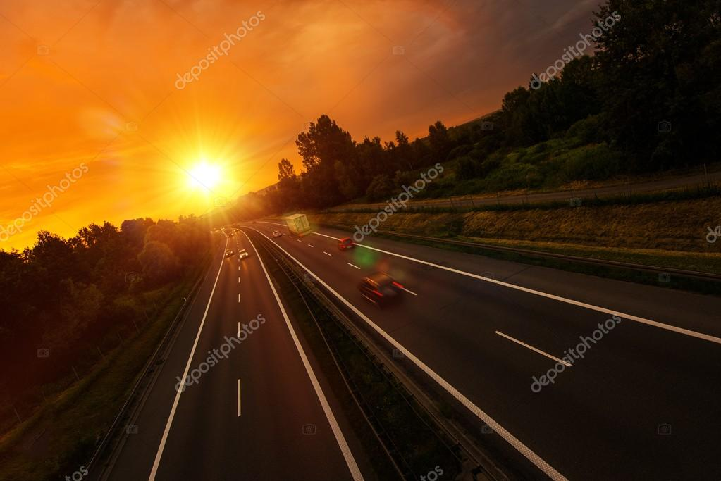 Sunset Highway Traffic
