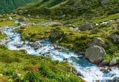 Scenico fiume alpino