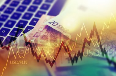 Trading Markets. Forex Currency Trading Concept