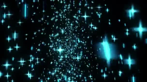 Stars flying