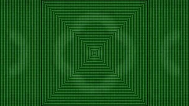 abstraktní zelené pruhy