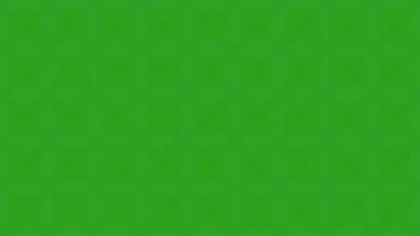 Kaleidoskop zelené glowwing