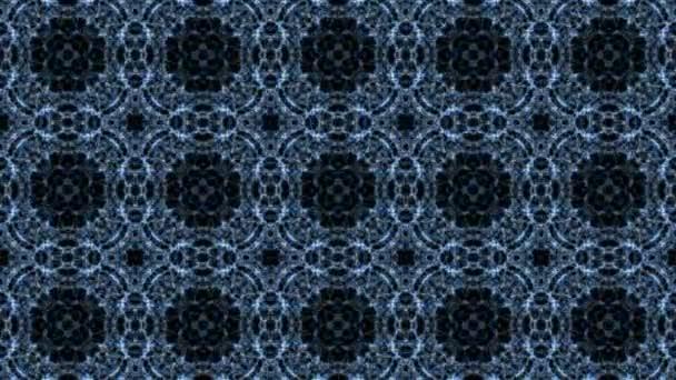 Kaleidoskopický vzorek s vodou