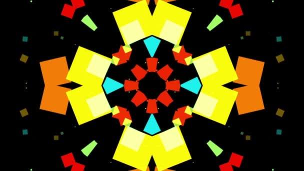 barevné geometrické tvary
