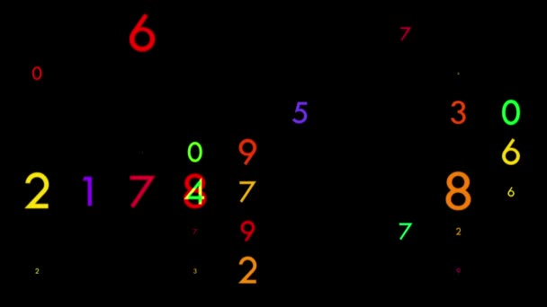 Multicolored flicking numbers
