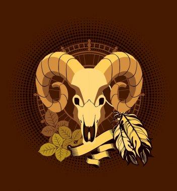 Aries sacred animal emblema