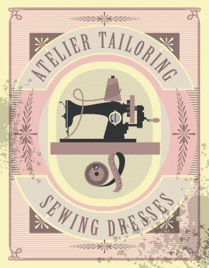 sewing workshop poster