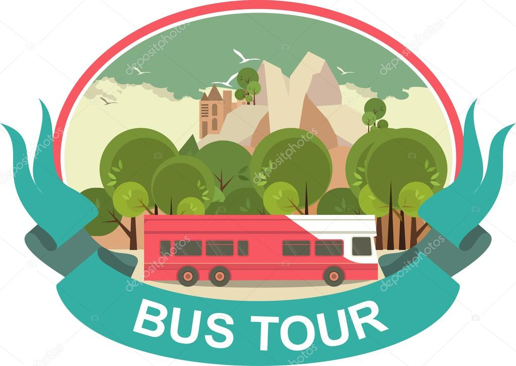 Bus Tour Label