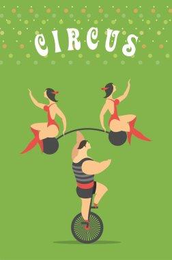 Set of circus
