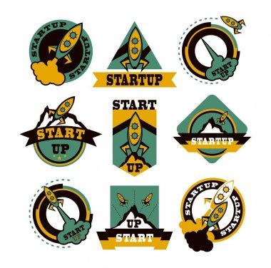 set of rockets icons