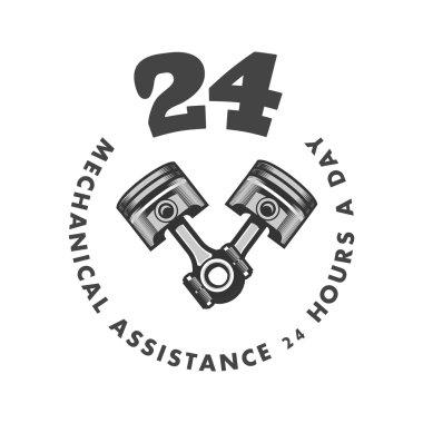 repair service emblem