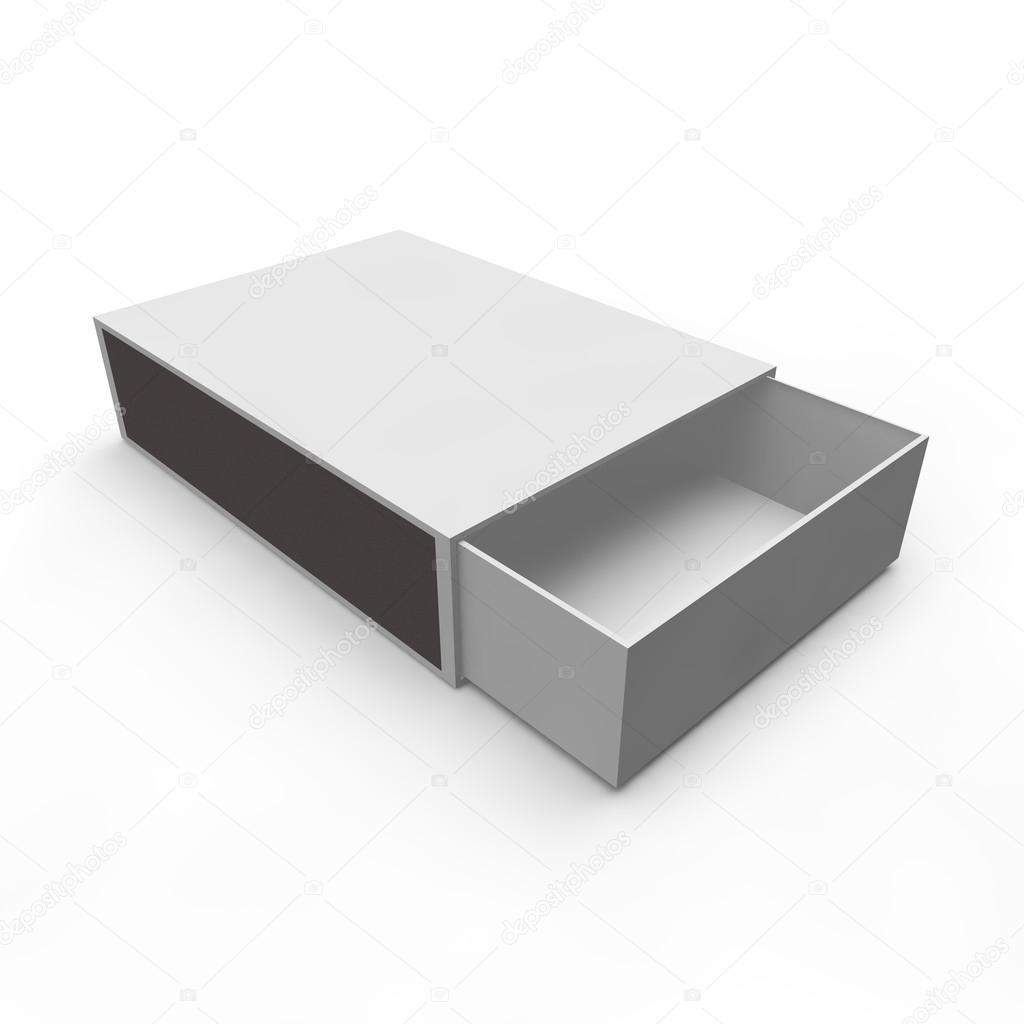 Template - empty matchbox — Stock Photo © injenerker #55000845