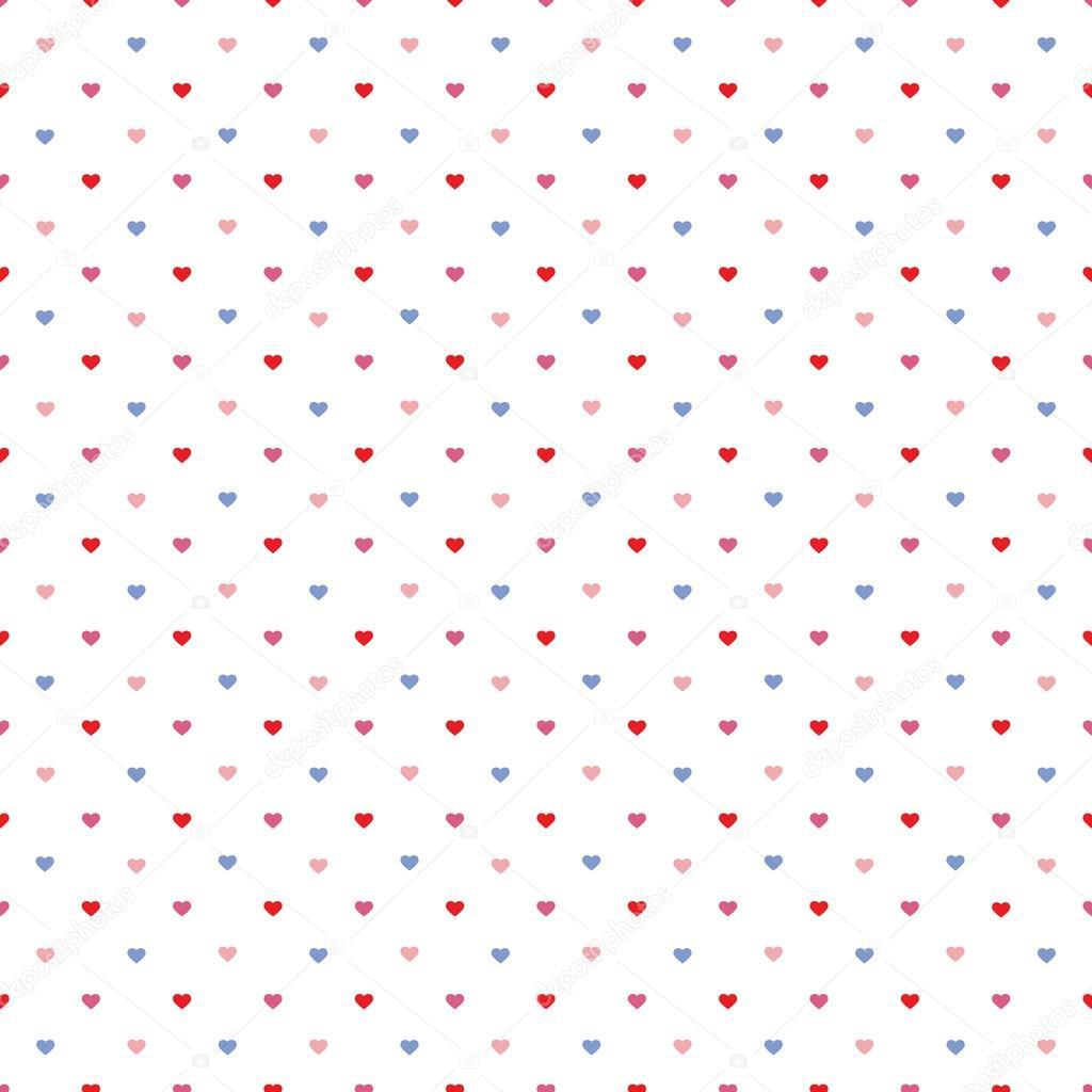 Imágenes: patron de corazones | patrón de corazones pequeños — Foto ...