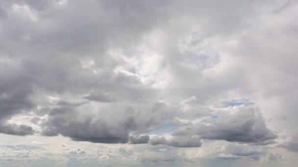 Beautiful summer day cloud timelapse