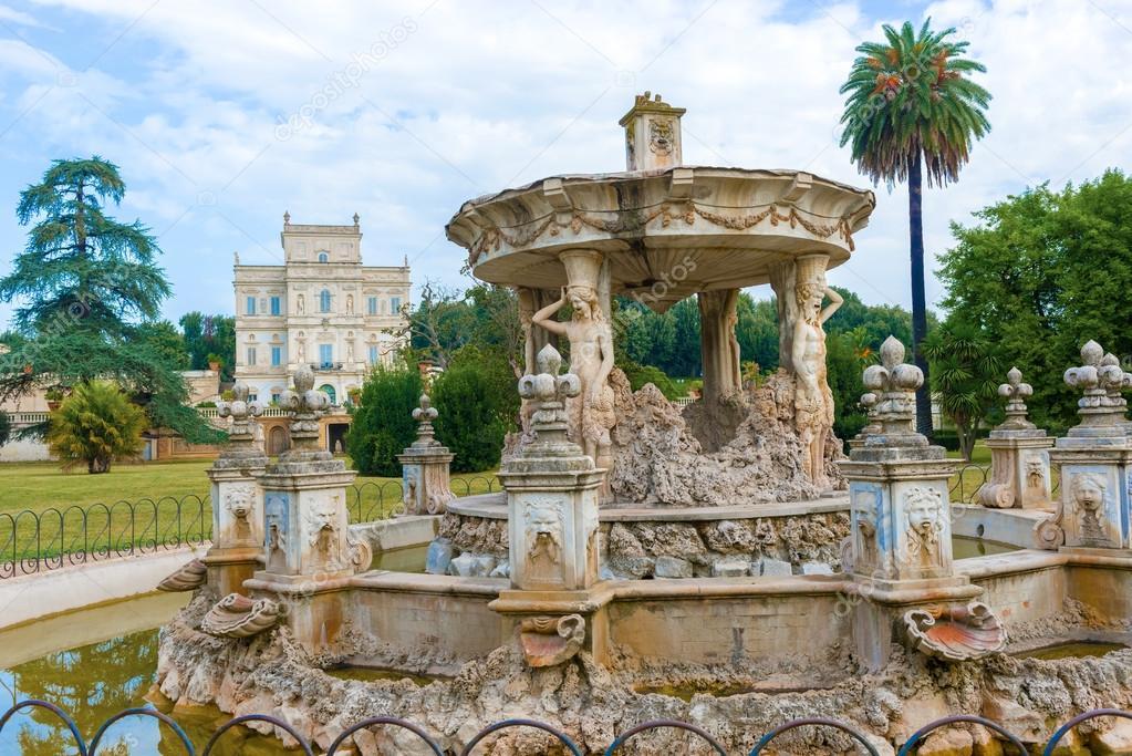 Villa Pamphili Park Rome