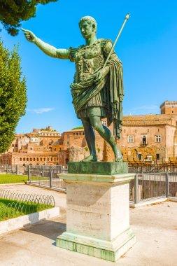 Statue of Emperor Augustus in Rome