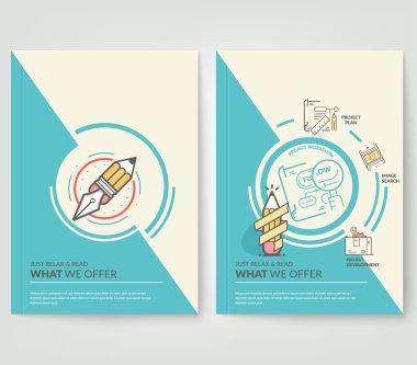 Business brochure portfolio