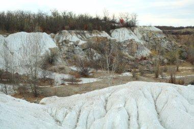 White kaolin clays deposit of