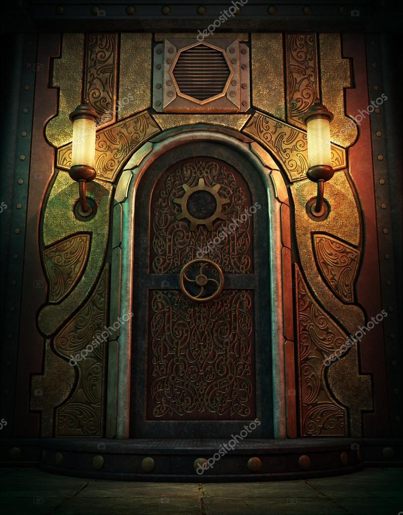 La porte de la chambre forte, 3d Cg — Photographie Majorgaine ...