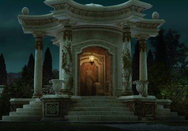 "Картина, постер, плакат, фотообои ""Римский павильон, 3d cg"", артикул 52922719"
