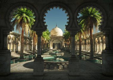 The Magic of the Orient, 3d CG