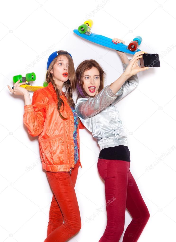 girl friends having fun Naughty