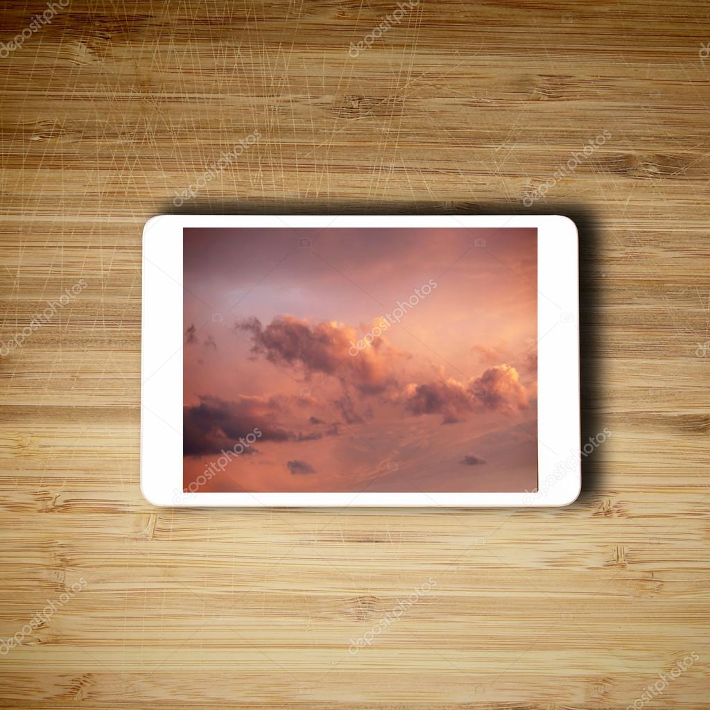 Tablet it technology concept