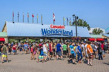View of Canada's Wonderland