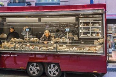 Street stalls, Frankfurt am Main, Germany