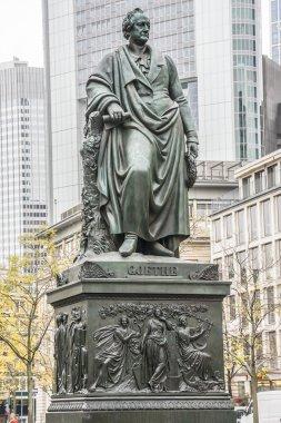 Statue of Goethe in Frankfurt, Germany