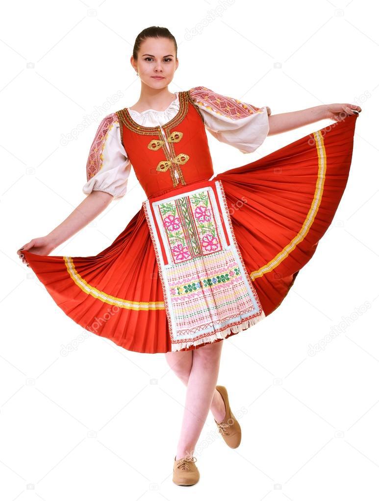 Costume Folklorique costume folklore slovaque — photographie muro © #105156312