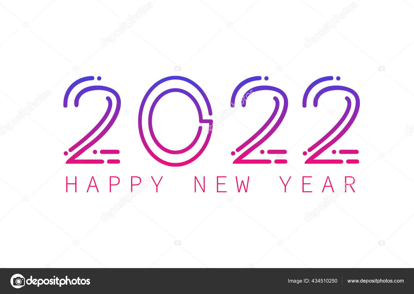 2022 Calendar Cover.Happy New Year 2022 Banner Design 2022 Brochure Calendar Cover Vector Image By C Rubelhossain Vector Stock 434510250