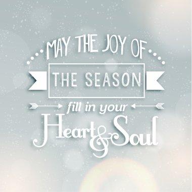 Merry Christmas Season Greetings Quote