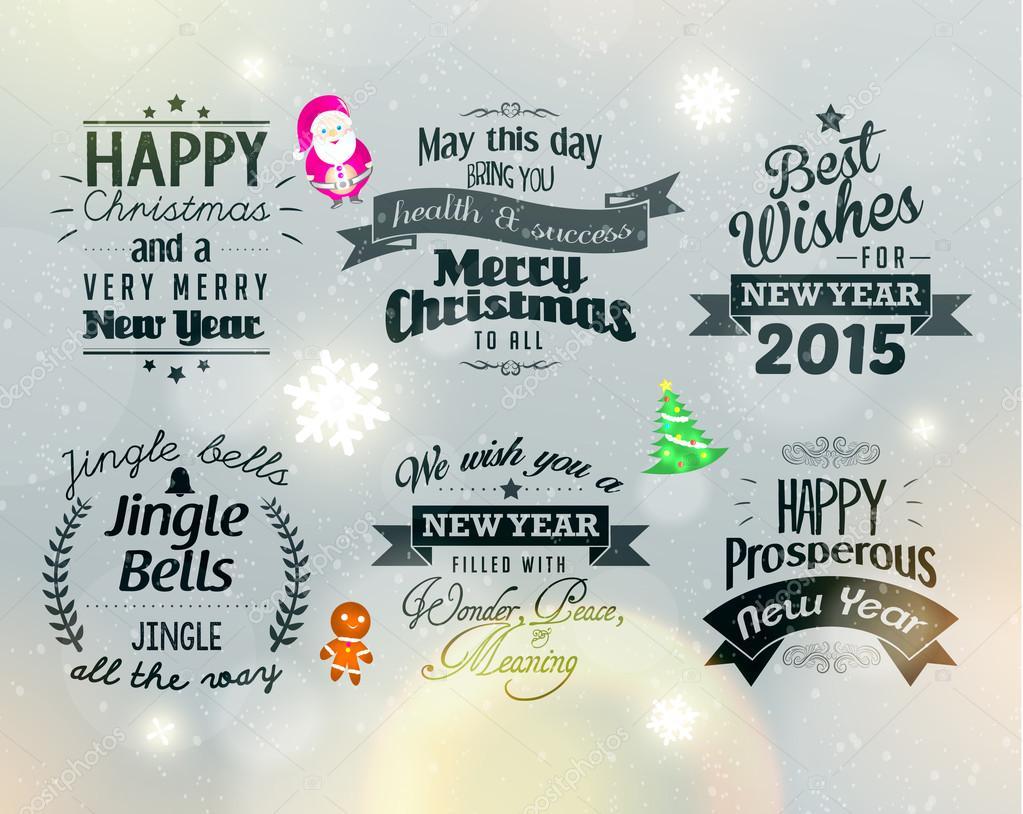 Frohe Weihnachten und ein glückliches neues Jahr 2015 Grüße ...