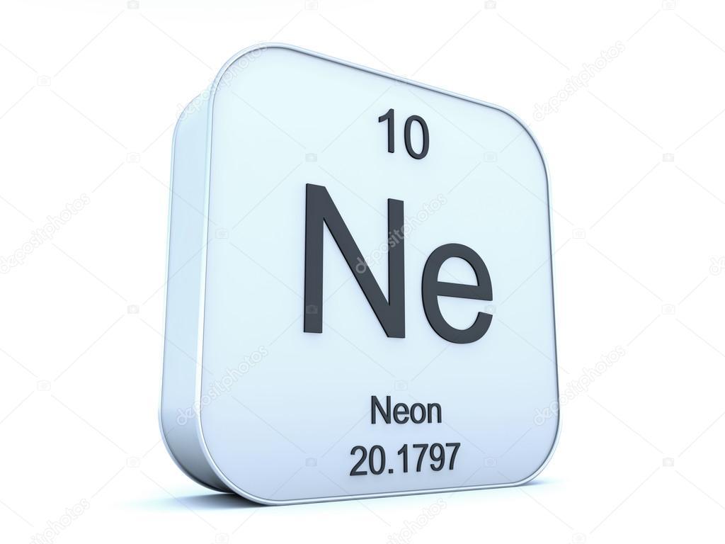 neon element symbol � stockfotografi 169 conceptw 116029782
