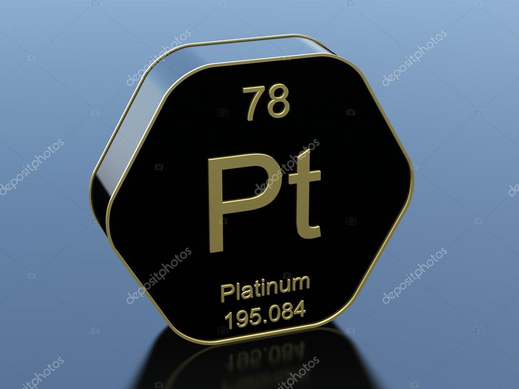 periodic the photo of platinum illustration stock element computer table