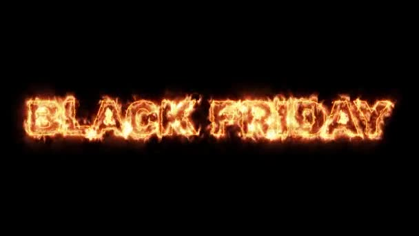Black Friday of fire