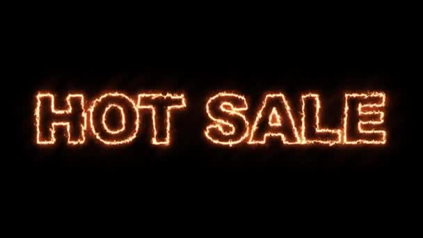 Hot sale text from burning letters