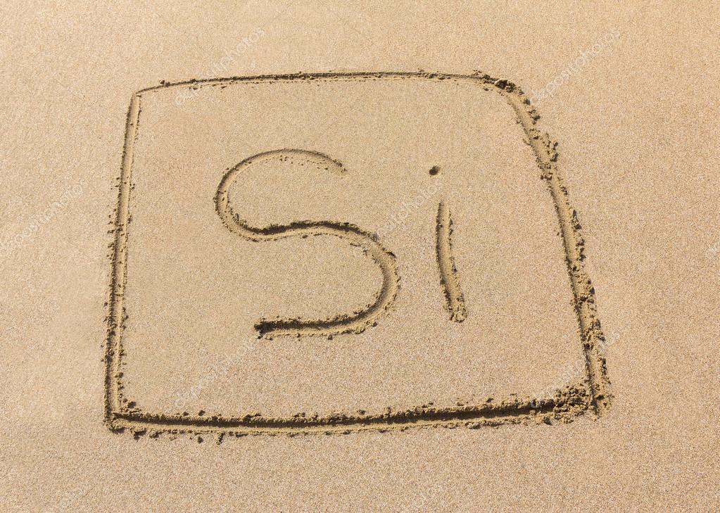 Silicon Symbol Stock Photo Conceptw 81515934