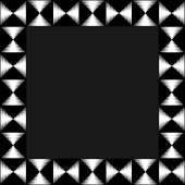 Négyszög alapú, mozaik képkeret